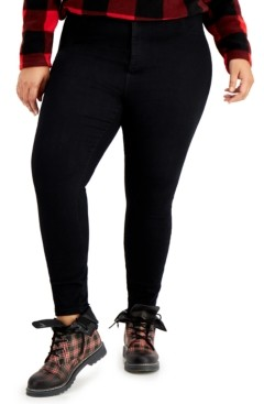 Celebrity Pink Trendy Plus Size High-Rise Skinny Jeans