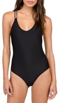 Volcom Simply Solid One-Piece Swimsuit