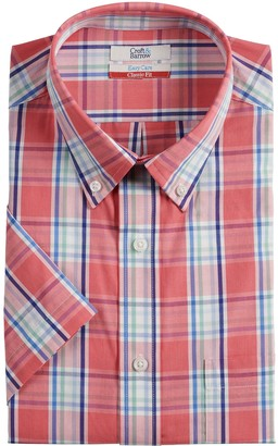Croft & Barrow Men's Classic-Fit Easy-Care Short-Sleeved Dress Shirt