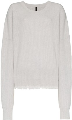 Unravel Project Long Sleeve Wool Blend Sweater