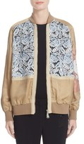 N°21 Women's N?21 Lace Inset Bomber