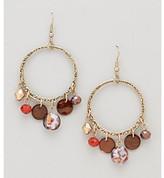 Erica Lyons® Espresso Drop Pierced Earrings