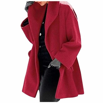 Smony Warm and Fashionable Multicolor Shawl High Collar Coat Women's Fall/Winter Woolen Coat