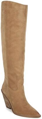 Sam Edelman Indigo Pointed Toe Knee High Boot
