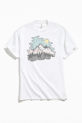 Retro Mountains Tee