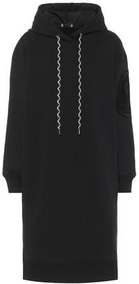 Moncler Cotton-blend jersey dress