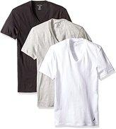 Nautica Men's 3-Pack Cotton V-Neck T-Shirt