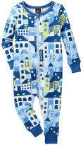 Tea Collection Night On The Town Pajama Romper (Baby & Toddler Boys)