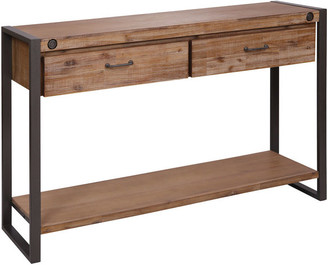 Stein World Armour Square Two-Drawer Console Table