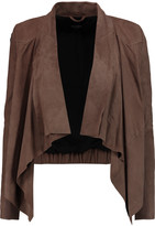 Muu Baa Muubaa Chester draped suede jacket