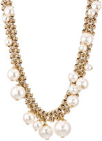 Lanvin Women's Imitation-Pearl-Embellished Long Necklace