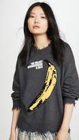 R 13 Velvet Underground Oversized Sweater