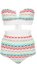 Missoni Mare Printed High Waisted Bikini Set