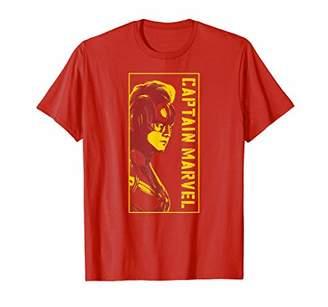 Marvel Captain Carol Danvers Mohawk Profile T-Shirt