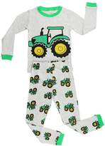 Elowel Pajamas Elowel Boys Tractor 2 pc pajamas Set