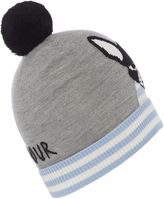 Kate Spade French Bulldog Knitted Hat