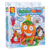 Alex Rub A Dub Octopus Tub Toss 25-pc. Toy Playset