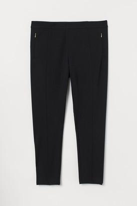H&M H&M+ Dressy Leggings - Black