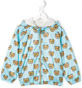 Moschino Kids - teddy bear print jacket - kids - Cotton/Polyester - 9 mth