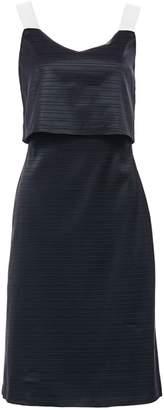 Hilary Macmillan Gros Grain Buckle Strap Dress