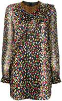 Marco De Vincenzo leopard print mini dress