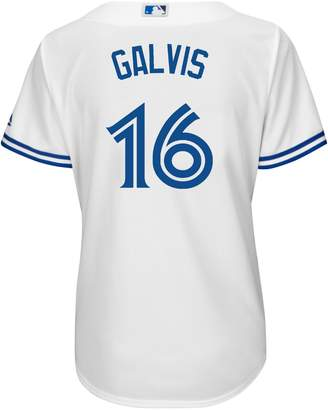Majestic Freddy Galvis Toronto Blue Jays MLB Cool Base Replica Home Jersey Tee