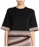 Maje Minor Jumper with jacquard detail