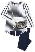 Juicy Couture Girls 4-6x) Two-Piece Purse Pocket Tunic & Leggings Set