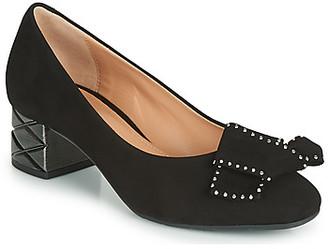 Perlato 11320-CAM-NOIR women's Heels in Black