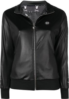 Philipp Plein x Playboy crystal logo jacket