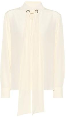Chloã© Silk blouse