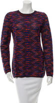M Missoni Patterned Long Sleeve Sweater w/ Tags