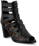 Azura Quidam Python Printed Gladiator Heel Sandal