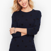Talbots Tinsel Dot Sweater
