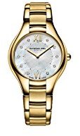Raymond Weil Women's 'Noemia' Swiss Quartz Stainless Steel Dress Watch, Color:Gold-Toned (Model: 5132-P-00985)