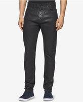 Calvin Klein Jeans Men's Slim-Fit Coated Black Jeans