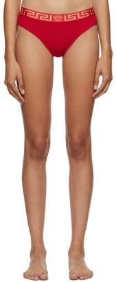 Versace Underwear Red Medusa Briefs