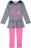 Juicy Couture Outlet - TODDLER 2PC TUNIC & LEGGING SET