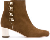 Malone Souliers Tronchetto boots - women - Leather/Nappa Leather/Suede - 36