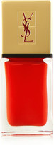 Saint Laurent Beauty - La Laque Couture Nail Lacquer - Rouge Pop Art 1