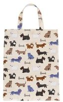 Harrods Medium Walking Dogs Shopper Bag
