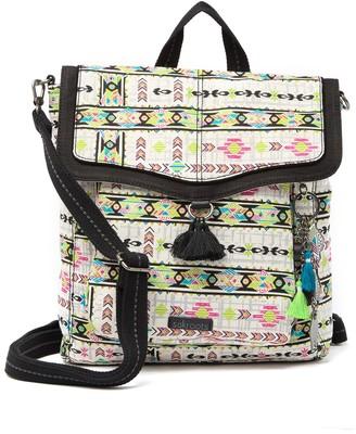 Sakroots Artist Circle Tassel Backpack