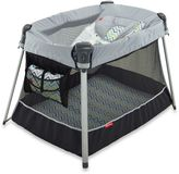 Fisher-Price Ultra-Lite Day and Night Playard in Chevron Fusion