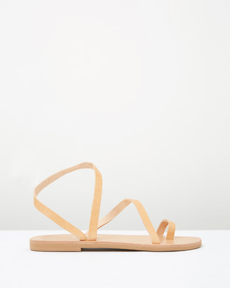 Ammos - Women's Neutrals Flat Sandals - Epione Sandals - Size One Size, 37 at The Iconic