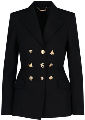 Givenchy Embellished Buttons Fitted Blazer