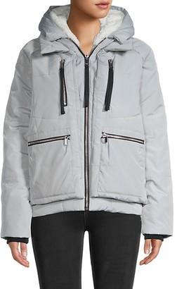 Bagatelle Faux Fur-Lined Hooded Jacket