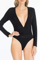 Olivaceous Plunge Bodysuit