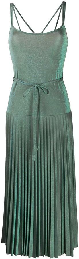 M Missoni Metallic Midi Dress