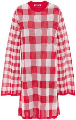 McQ Gingham Jacquard Dress