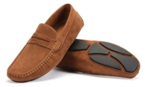 Mio Marino Men's Suede Loafers Men's Shoes